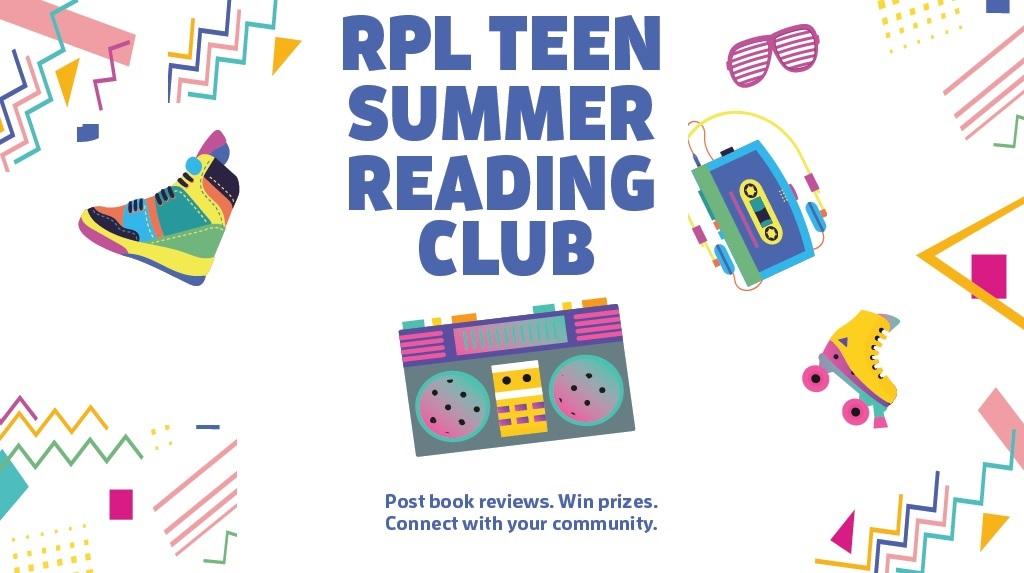 RPL Teen Summer Reading Club